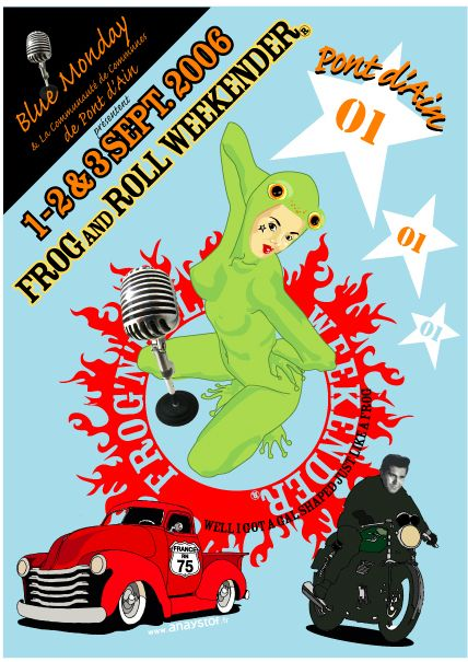 Teddy Cruisers   Frog n Roll Weekender  Pont d Ain  France  1  jpg